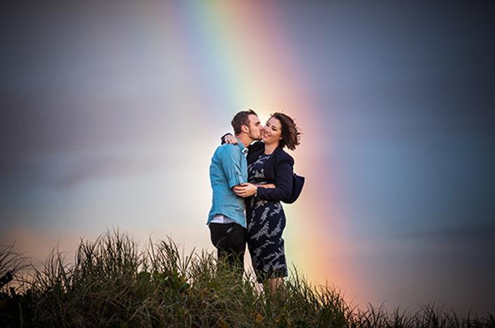 Gold Coast Beach Couple Shoot003
