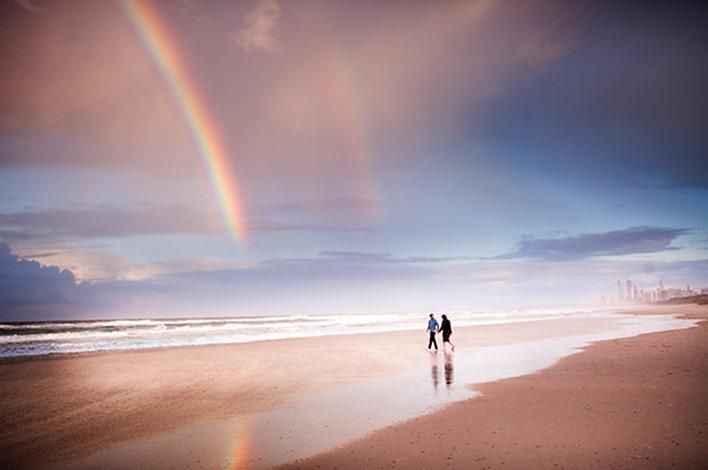 Gold Coast Beach Couple Shoot014