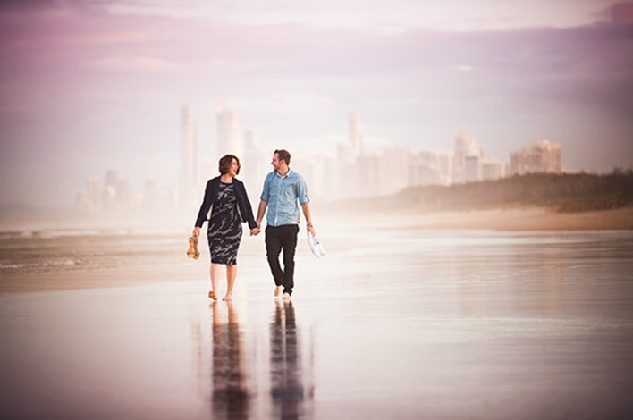Gold Coast Beach Couple Shoot015